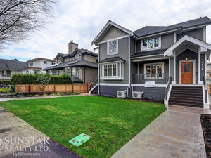 Kitsilano 2262sf Modern 3 Bed 3.5 Bath 3 Level Duplex w/ Fireplace