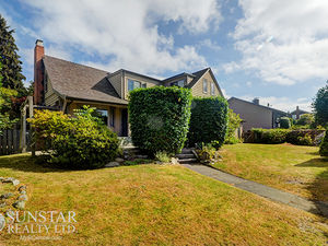 West Point Grey 3495sf 3 Bed + Off 2.5 Bath 3 Level House w/ Fireplace