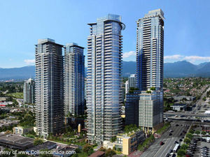 Brentwood Brand New 1 Bed + Den Condo w/ Air Cond & Balcony @ Altus