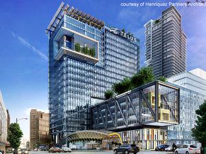 Downtown 1190sf 3 Bed 2 Bath Condo w/ 2 Balconies @ Telus Garden