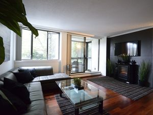 Furnished Executive Condo steps from English Bay