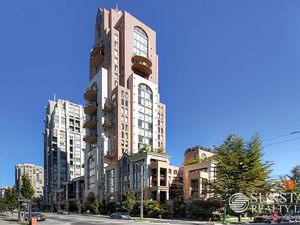 Yaletown High End 2 Level Furnished Condo w/ Balcony @ The Grace (501)